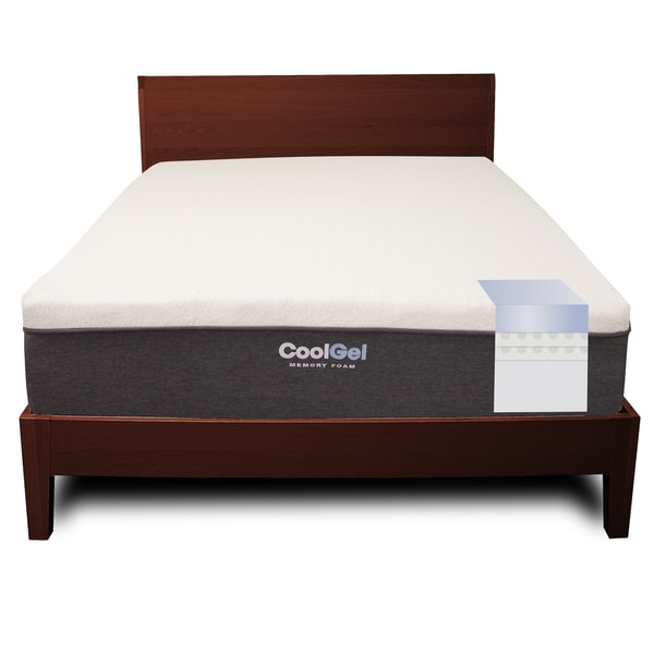 PostureLoft Ventilated 12-inch Queen-size Gel Memory Foam Mattress