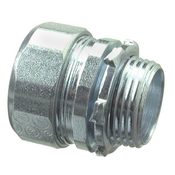 Halex 63520 2 in. Galvanized Steel Rigid Compression Connector