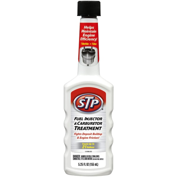 STP 78571 5-1/4 Oz STP Fuel Injection Carburetor Treatment