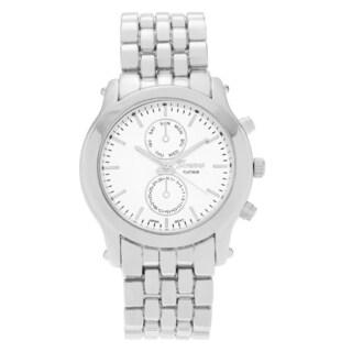 Geneva Platinum Women's Polished Panther Link Watch
