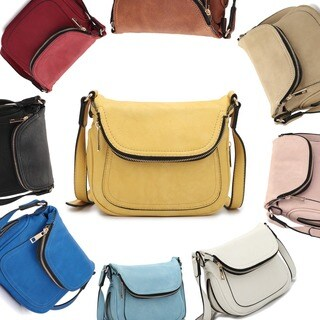 Dasein Front Flap Messenger Bag