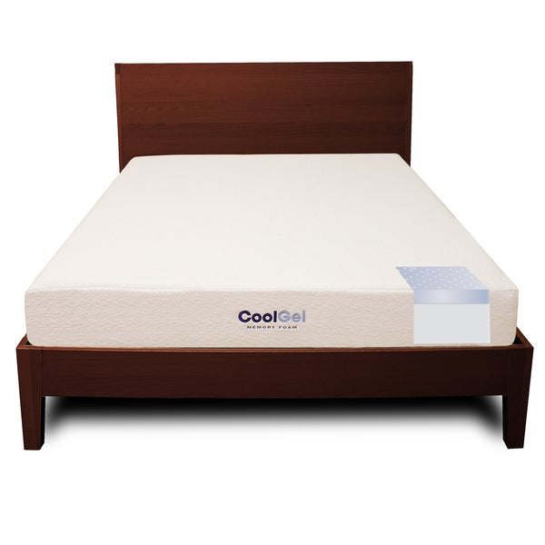 PostureLoft Ventilated 8-inch Queen-size Gel Memory Foam Mattress