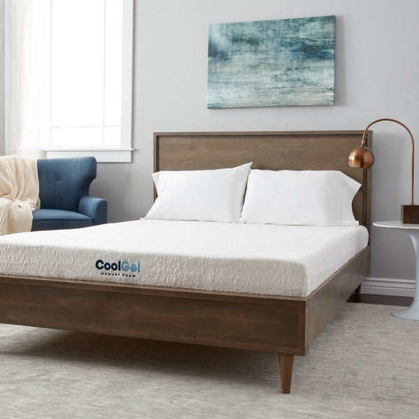 PostureLoft Ventilated 8-inch Full-size Gel Memory Foam Mattress