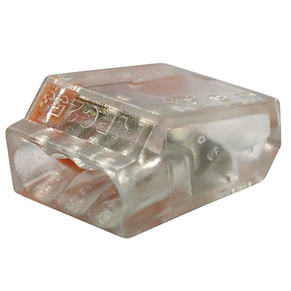 GB Gardner Bender 19-PC3 10 Orange 3-Port PushGard Push-In Wire Connector (Pack of 10)