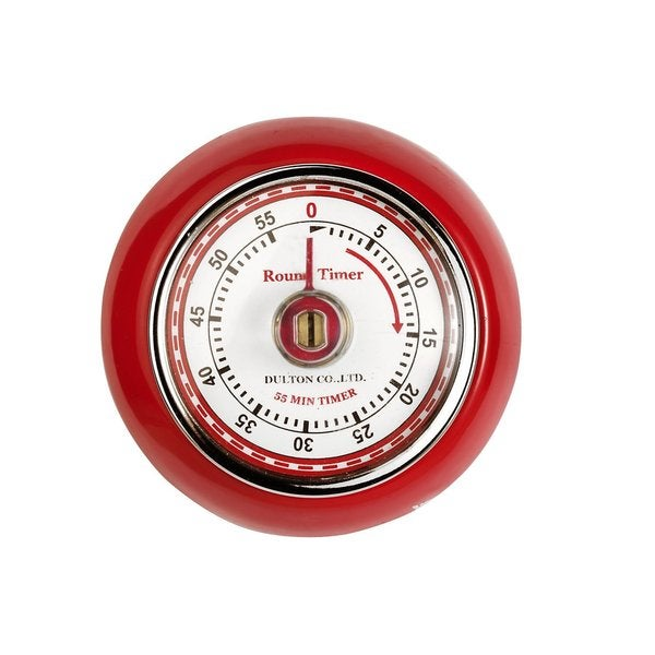 Fox Run Red Magnetic Retro Kitchen Timer