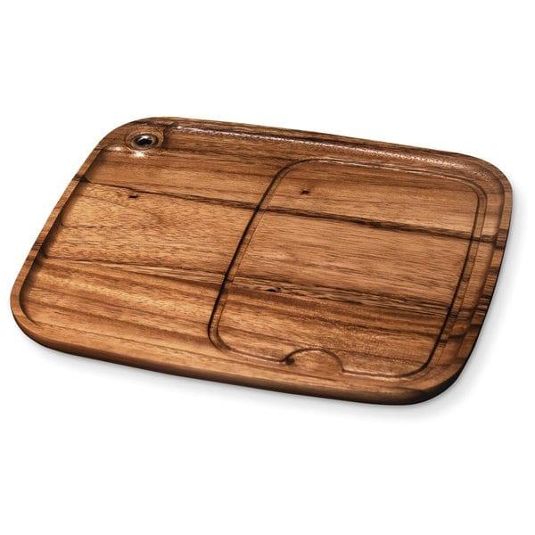 Ironwood Gourmet Acacia Wood Steak Barbecue Plate