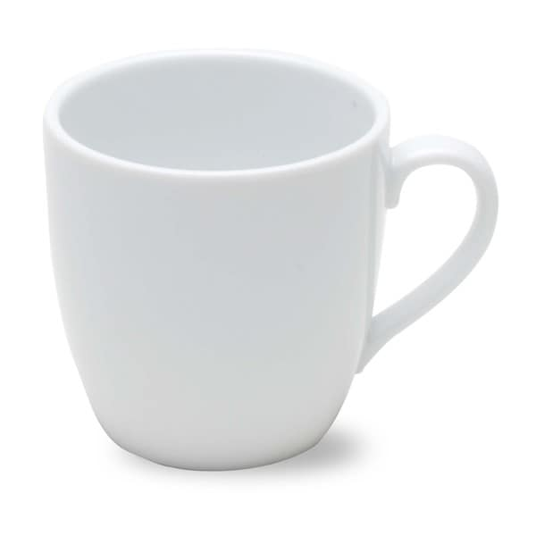 TAG Whiteware Curved Cappuccino Mug (Set of 4) 18620373