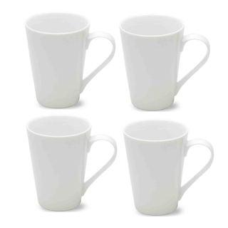 TAG Whiteware Tapered Coffee Mug (Set of 4)