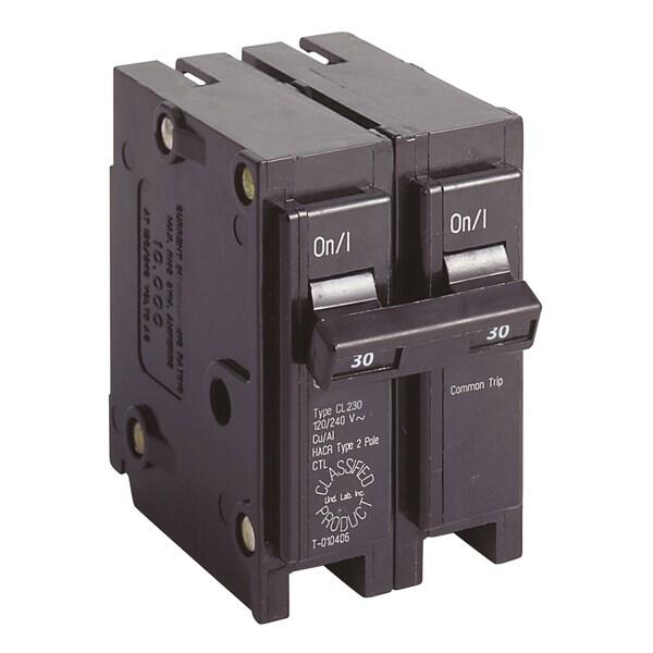 Eaton CL230CS Double Pole 30 Amp Classified Breaker