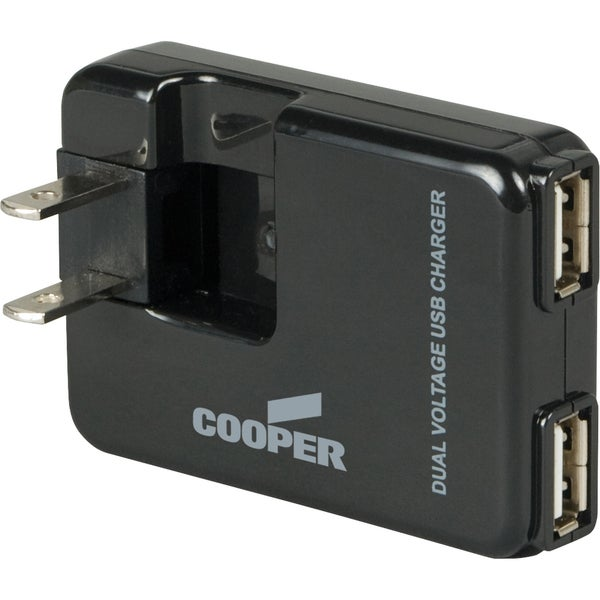 Cooper Wiring Devices BP450-SP 2 Port USB Charger Adapter