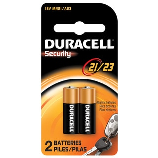 Duracell MN21B2PK05 12 Volt Alkaline Duracell Security 21/23 Batteries 2-count