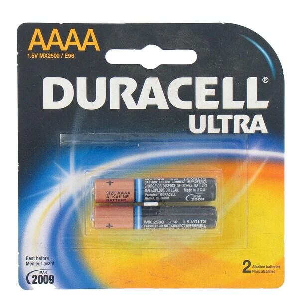 Duracell 80234852 Ultra AAAA Alkaline Batteries