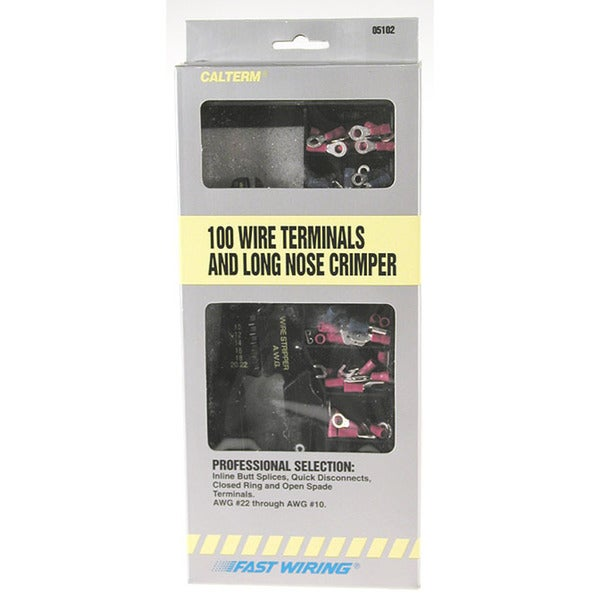 Calterm 05102 Terminal Connector Kit 101 Piece