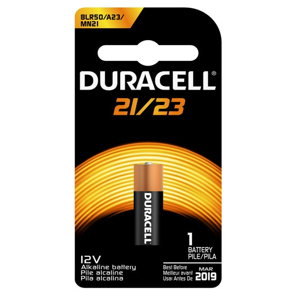 Duracell 4133366444 12 Volt 21/23 Security Alkaline Battery