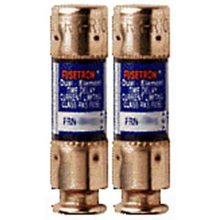 Bussman BP/FRN-R-15 15 Amp 250 Volt Time Delay Fuse (Set of 2)