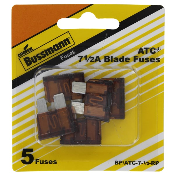 Bussman BP/ATC-7.5 RP 7.5 Amp Fuse (Pack of 5)
