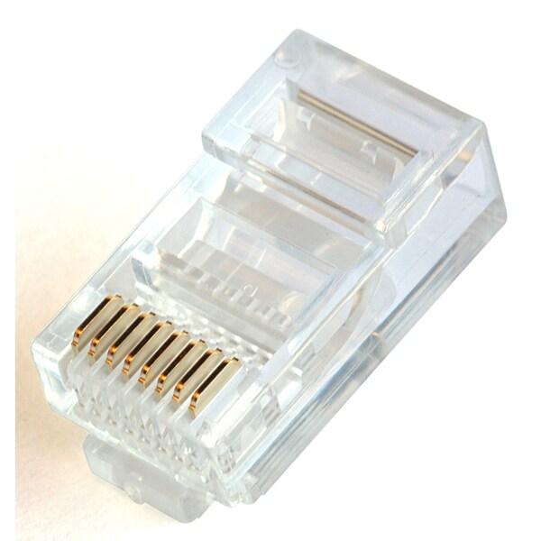 Black Point Products Inc BT-184-20PK 8 X 8 RJ45 Modular Plug 20-count