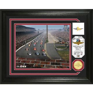 Indianapolis 500 '100th Running' Bronze Coin Photo Mint
