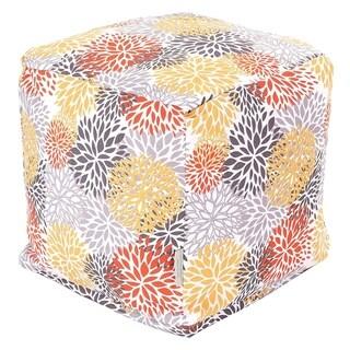 Majestic Home Goods Citrus Blooms Cube Outdoor Indoor