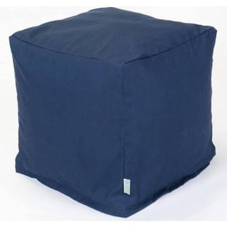 Majestic Home Goods Navy Blue Solid Cube Outdoor Indoor