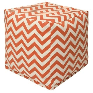 Majestic Home Goods Indoor/Outdoor Chevron Cube