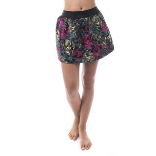 Soho Women Multicolor Embroidered Mini Skirt