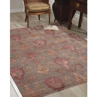 Nourison Silk Shadows Taupe Rug (8'6 x 11'6)