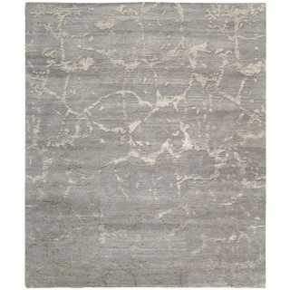 Nourison Silk Shadows Silver Rug (8'6 x 11'6)