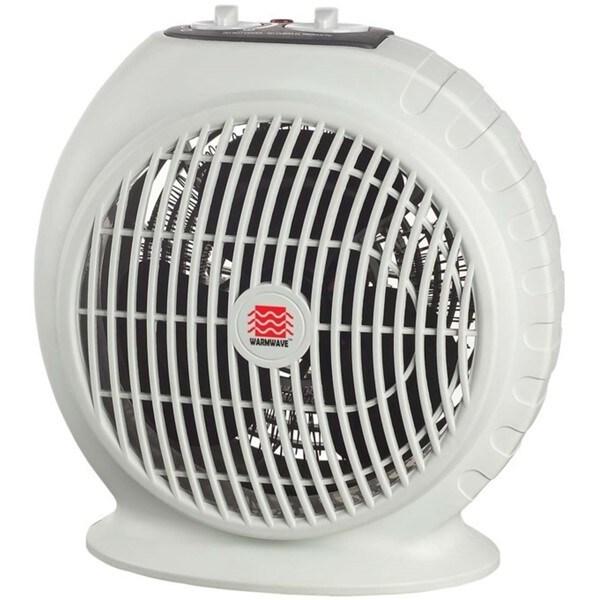 Warmwave 1500-watt Portable Electric Fan Heater