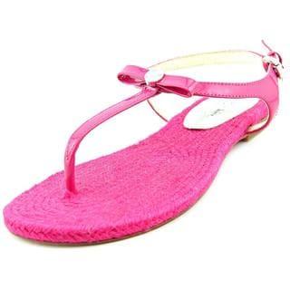 Michael Kors Women's 'Josie Thong' Pink Patent Leather Sandals
