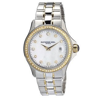 Raymond Weil Women's 9460-SGS-97081 'Parsifal' Diamond Two-tone Stainless steel Watch
