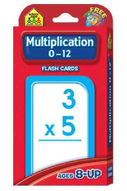 Multiplication 0-12: Flashcards (Paperback)