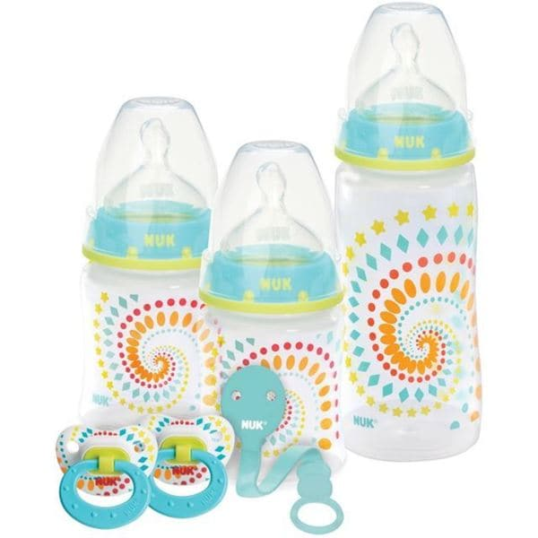 NUK Tie-dye Fashion Orthodontic Baby Bottle Gift Set