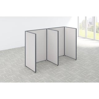 Bush Business Furniture ProPanels 96 x 36 x 66-inch 2-person Open Cubicle Configuration