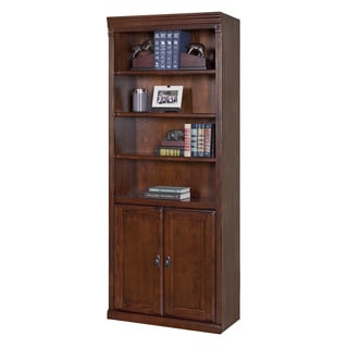 Havington Overbrook Hand-distressed Hardwood Library Bookcase