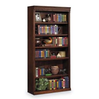 Havington Overbrook 72-inch Hardwood Open Bookcase
