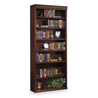 Havington Overbrook 84-inch Hardwood Open Bookcase