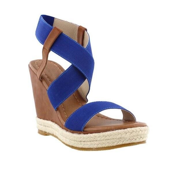 Beston DC26 Espadrille Wedges Sandals