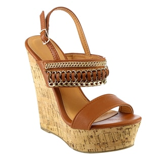 Beston DA91 Platform Wedges Sandals