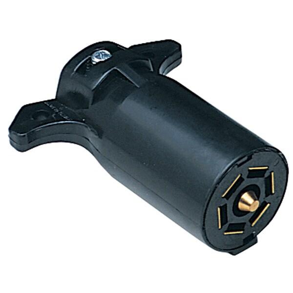 Hopkins Towing 48505 7-Pole RV Blade Plastic Trailer End Plug