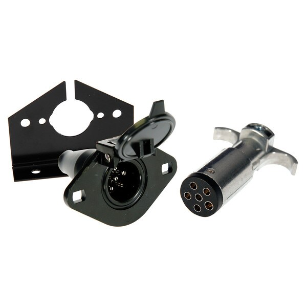 Hopkins Towing 48405 6-Pole Round Connector Kit