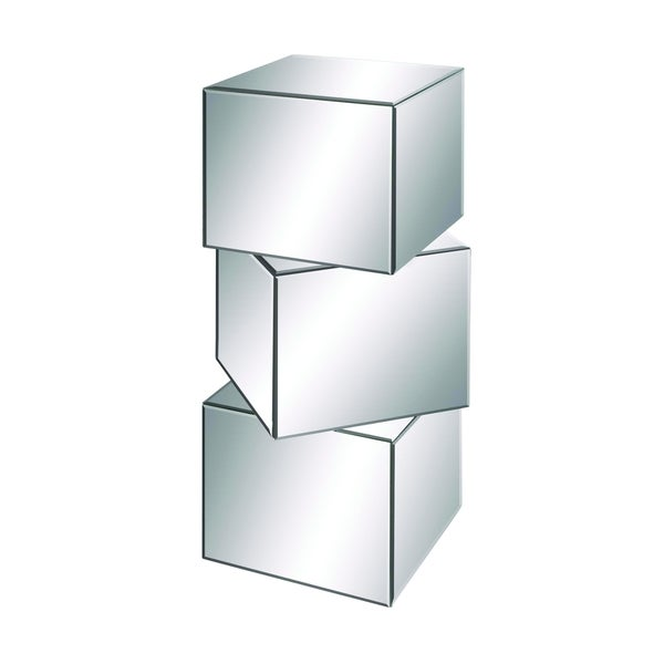 Dalian Stylish And Elegant Cube Mirror Pedestal
