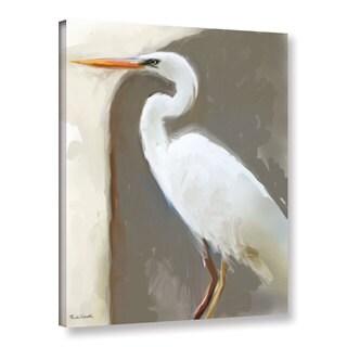 Rick Novak's 'Egret01' Gallery Wrapped Canvas