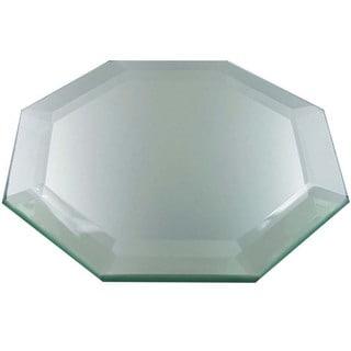 Frameless Octagon Decorative Display Mirror With Feet