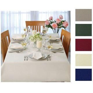 Cobblestone Woven Tablecloth