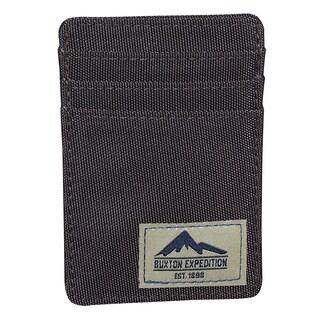 Buxton Expedition Nylon Front-pocket Money Clip