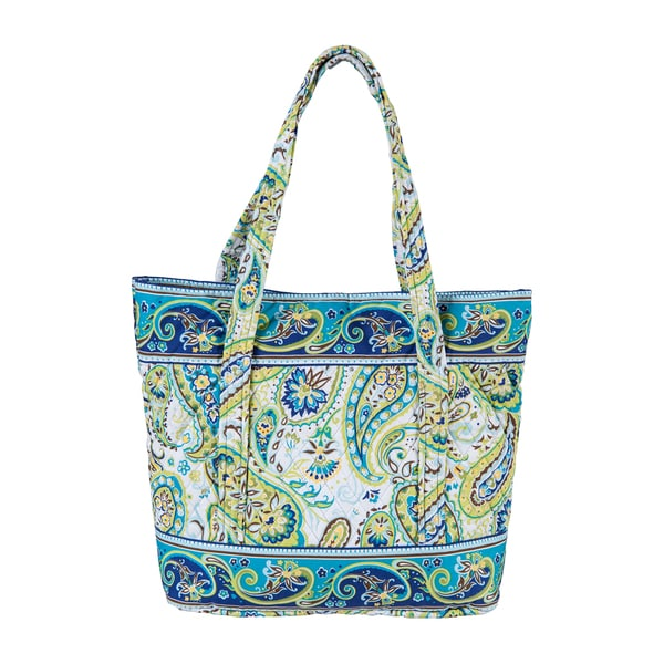 Santa Cruz Cotton Quilted Large Tote Bag