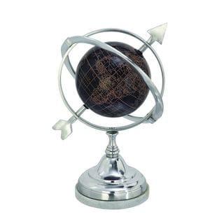Magnificent Aluminum Marble Globe