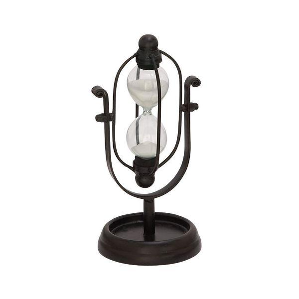 Classy Metal Glass Min Black Hourglass