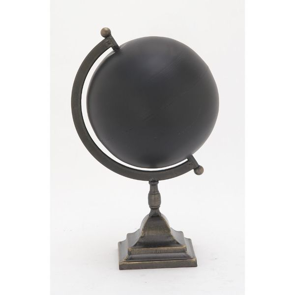 Unique Metal Black Globe